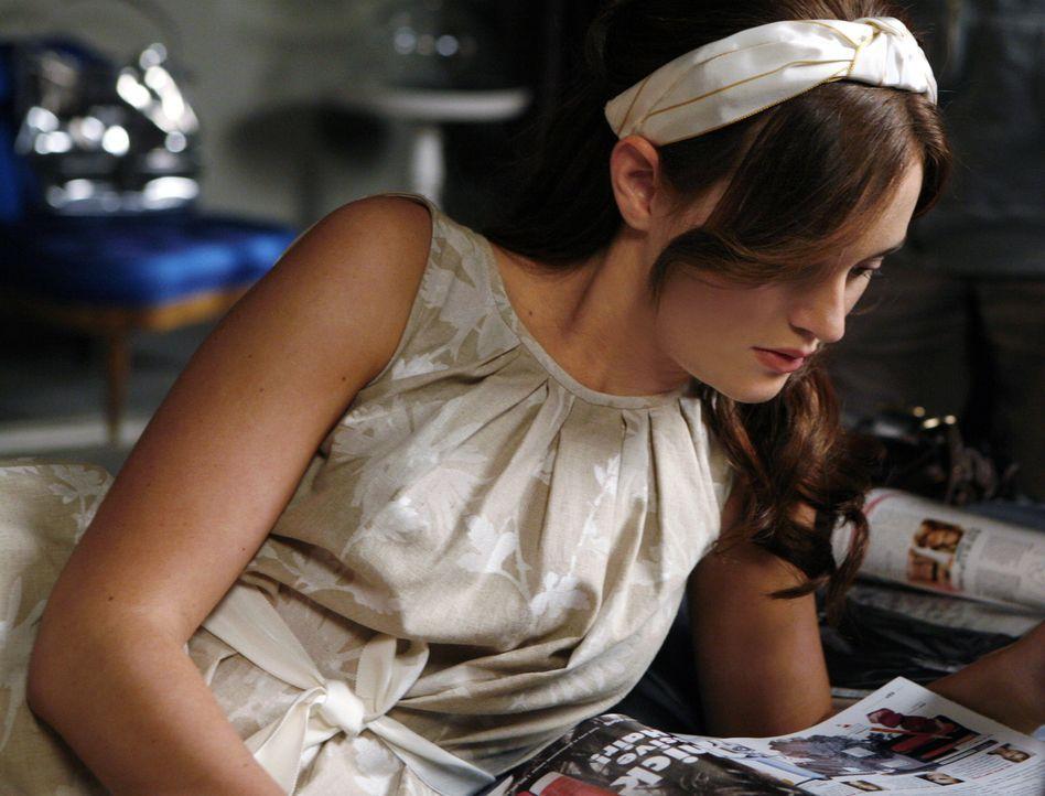 Der Traum ist geplatzt: Blair (Leighton Meester) wird nicht das neue Gesicht der Modelinie ihrer Mutter ... - Bildquelle: Warner Brothers