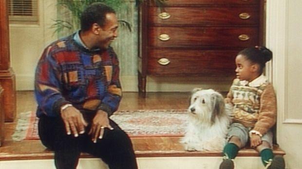 Cliff (Bill Cosby, l.) hat die schwere Aufgabe, Rudy (Keshia Knight Pulliam,...