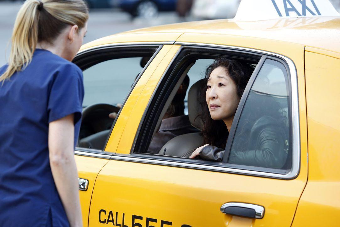 Müssen Abschied voneinander nehmen: Meredith (Ellen Pompeo, l.) und Cristina (Sandra Oh, r.) ... - Bildquelle: ABC Studios