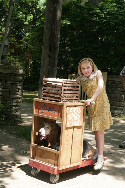 Als die Wirtschaftskrise in den dreißiger Jahren ihre Familie an den Rand der Armut drängt, lässt sich die kleine Kit Kittredge (Abigail Breslin) ni... - Bildquelle: Warner Brothers