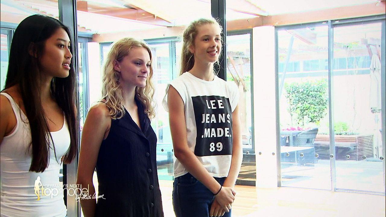 GNTM-Stf10-Epi09-Casting-Heidi-Klum-Intimates-18-ProSieben - Bildquelle: ProSieben