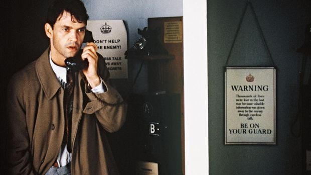 Tom (Dougray Scott) vermutet unter den Mitarbeitern von Bletchley Park einen...