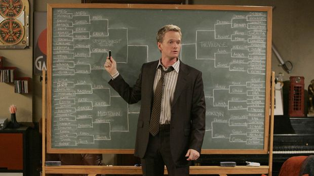 Barney (Neil Patrick Harris) scheint eine Pechsträhne zu haben - schon seit T...