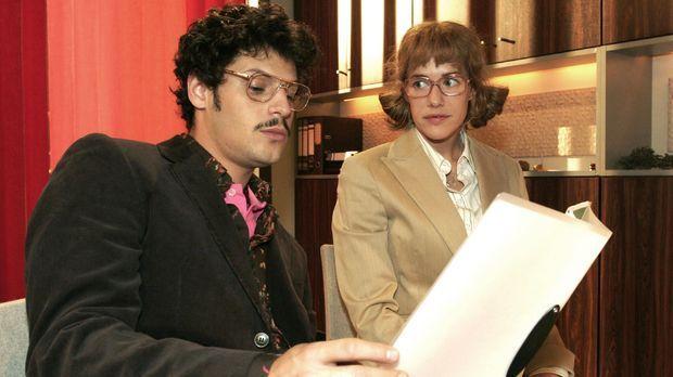 Lisa (Alexandra Neldel, r.) erkennt, dass sie von Rokkos (Manuel Cortez, l.)...