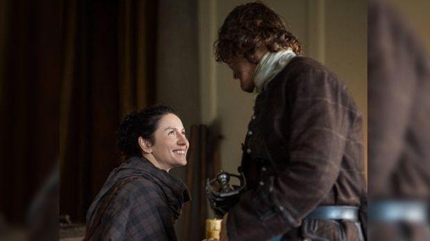 """Outlander"" mit Caitriona Balfe und Sam Heughan: Echtes Fangirl pro..."