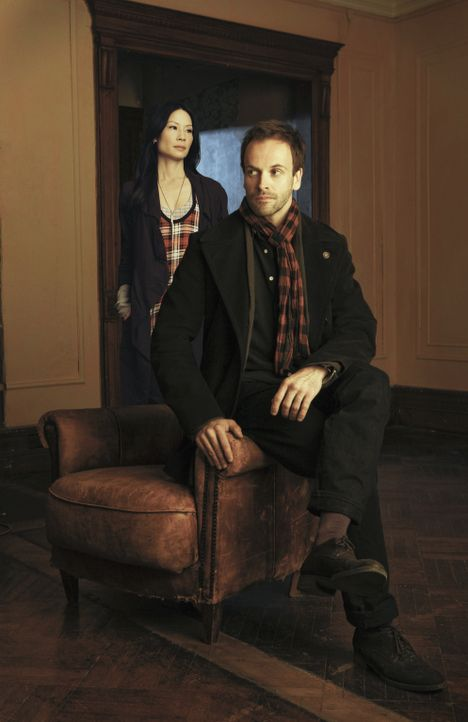 Das Genie und seine Partnerin - Bildquelle: CBS Television
