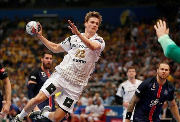 Rune Dahmke und der THW verloren gegen PSG