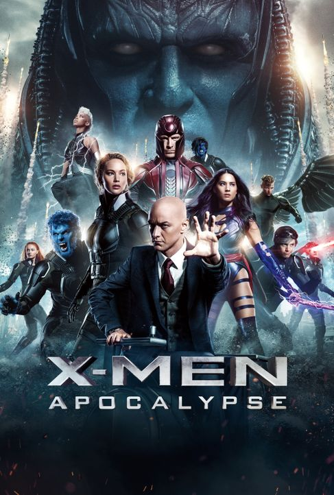X-Men Apocalypse - Artwork - Bildquelle: 2016 Twentieth Century Fox Film Corporation.  All rights reserved.  MARVEL TM &   2016 MARVEL & Subs.