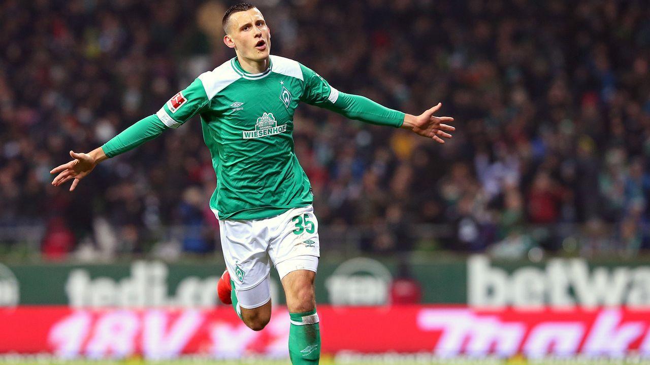 Maximilian Eggestein (SV Werder Bremen) - Bildquelle: 2019 Getty Images