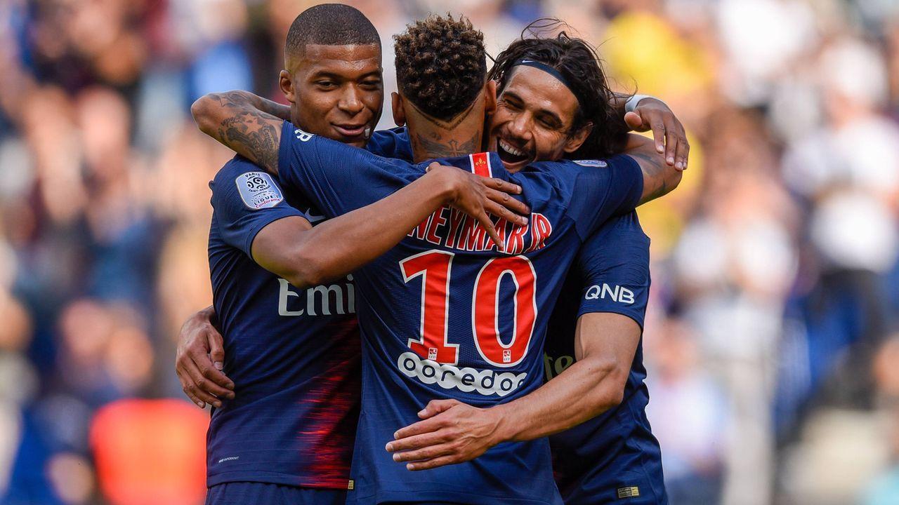 Platz 1 - Paris St. Germain - Bildquelle: imago/PanoramiC