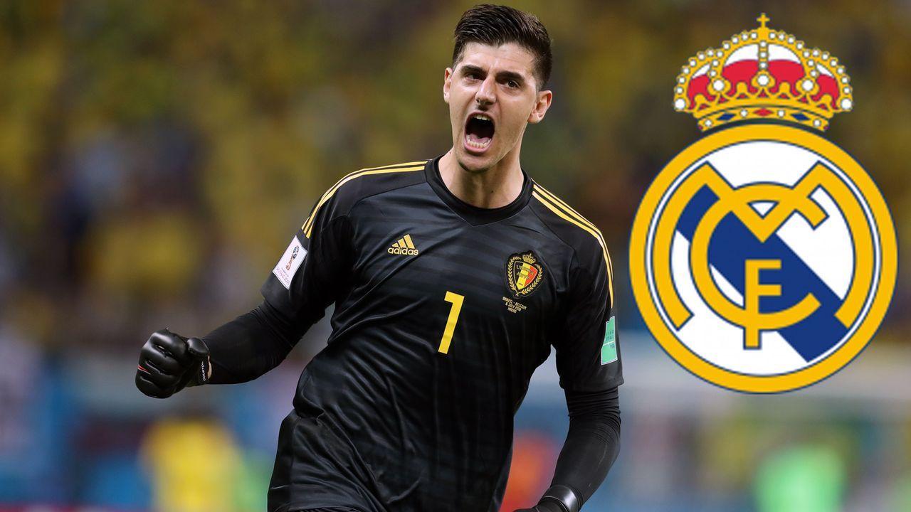 Platz 5 - Thibaut Courtois (Real Madrid) - Bildquelle: 2018 Getty Images