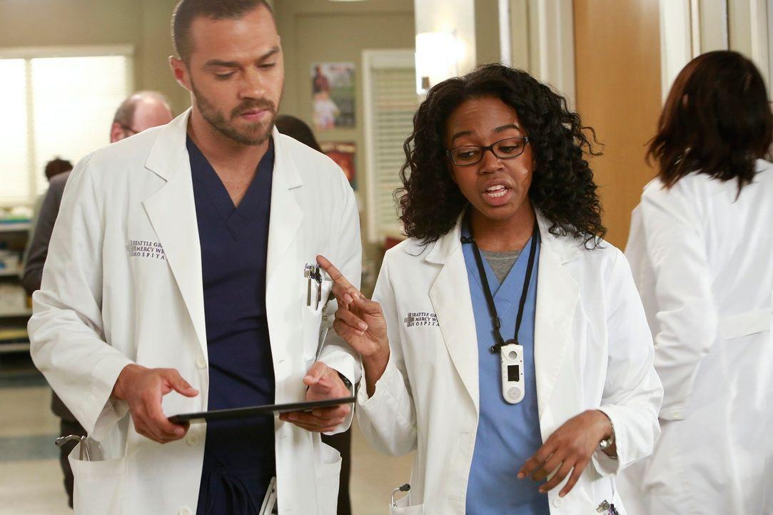 Ein anstrengender Tag wartet auf Jackson (Jesse Williams, l.) und Jo (Camilla Luddington, r.) ... - Bildquelle: ABC Studios