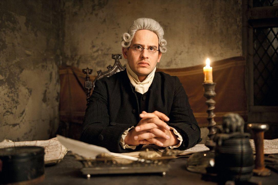 Der junge, bislang erfolglose Dichter Johann Goethe fällt durch sein Jura-Studium und wird deshalb von seinem Vater ans Reichskammergericht in das v... - Bildquelle: Warner Brothers