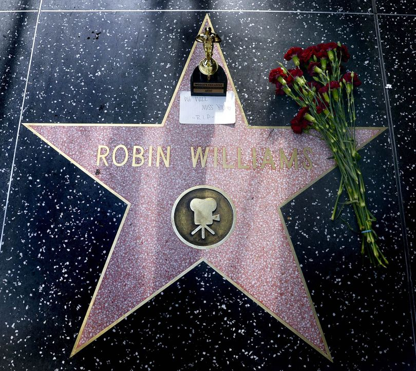 Robin-Williams-Walk-of-Fame-dpa - Bildquelle: dpa