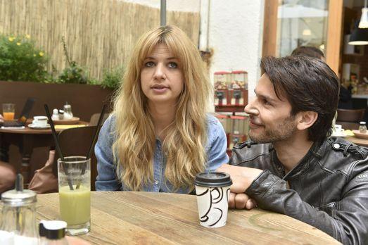 Mila - Mila (Susan Sideropoulos, l.) will vor Nick (Florian Odendahl, r.) nic...