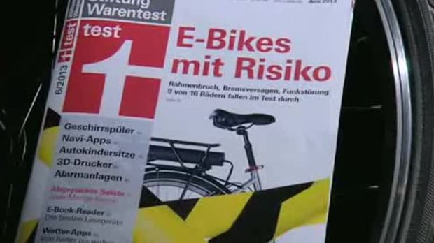 e bikes 9 von 16 mangelhaft sat 1 ratgeber. Black Bedroom Furniture Sets. Home Design Ideas