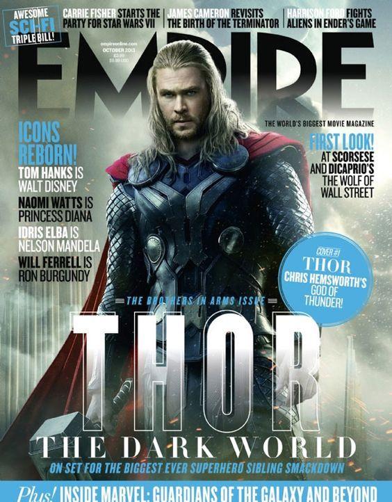 Chris Hemsworth auf dem Empire-Cover - Bildquelle: Marvel/Empire