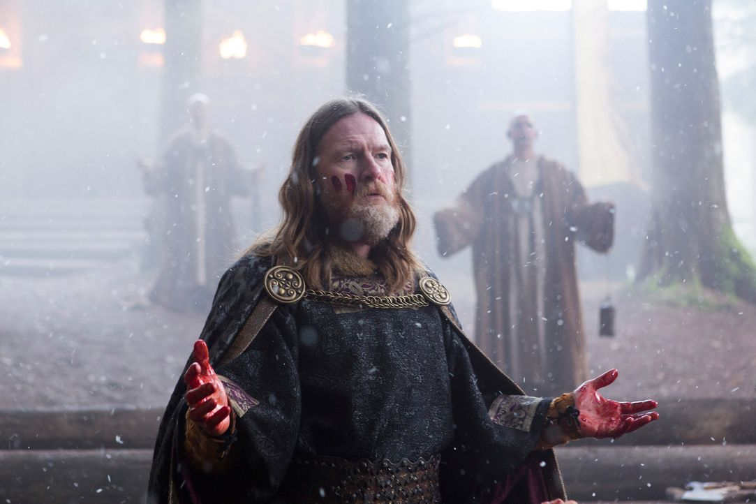 Träumt davon, neben England auch Frankreich zu erobern: König Horak (Donal Logue) ... - Bildquelle: 2013 TM TELEVISION PRODUCTIONS LIMITED/T5 VIKINGS PRODUCTIONS INC. ALL RIGHTS RESERVED.