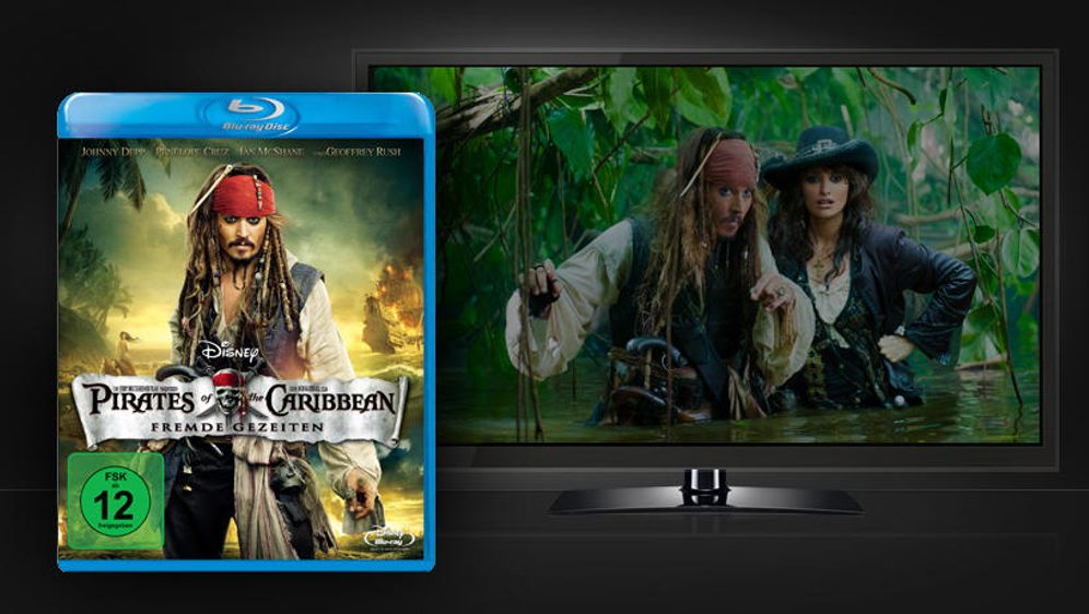Pirates of the Caribbean - Fremde Gezeiten (Blu-ray Disc) - Bildquelle: Walt Disney Studios