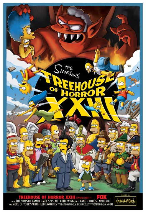 """TREEHOUSE OF HORROR XXIII"" - Gruselige Geschichten mit den Simpsons ... - Bildquelle: 2012-2013 Fox and its related entities. All rights reserved"