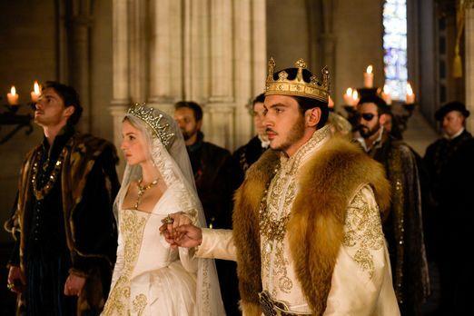 Die Tudors - Während König Henry VIII (Jonathan Rhys Meyers, r.) und sein Gem...