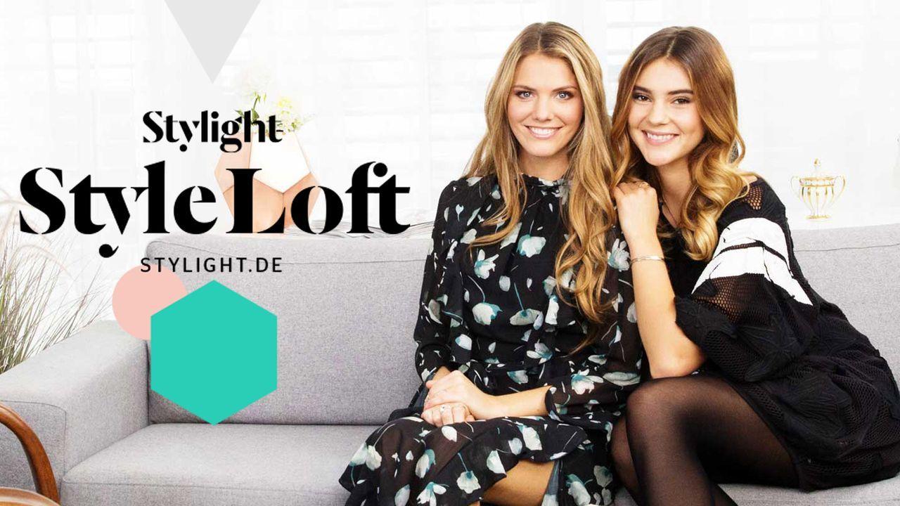 Stylight Style Loft mit Viviane Geppert (l.) und Stefanie Giesinger (r.) ... - Bildquelle: Stylight