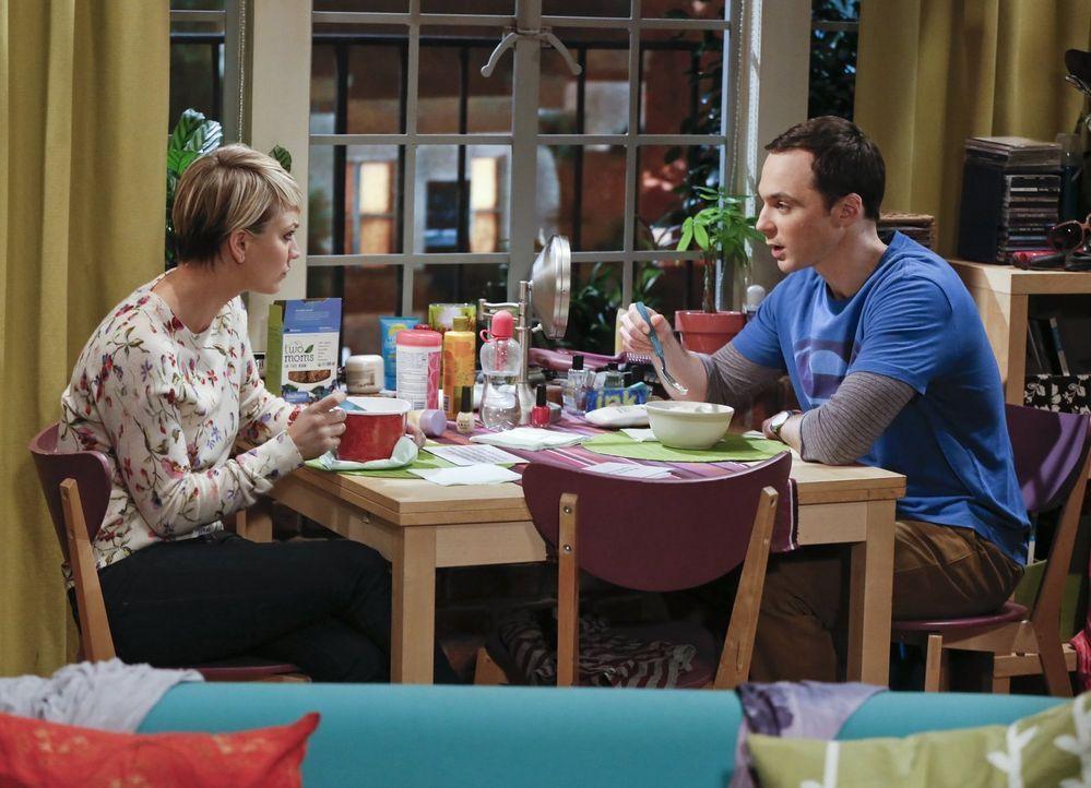 Werden sie zufrieden sein - mit dem Experiment an dem sie teilnehmen? Penny (Kaley Cuoco, l.) und Sheldon (Jim Parsons, r.) ... - Bildquelle: Warner Bros. Television