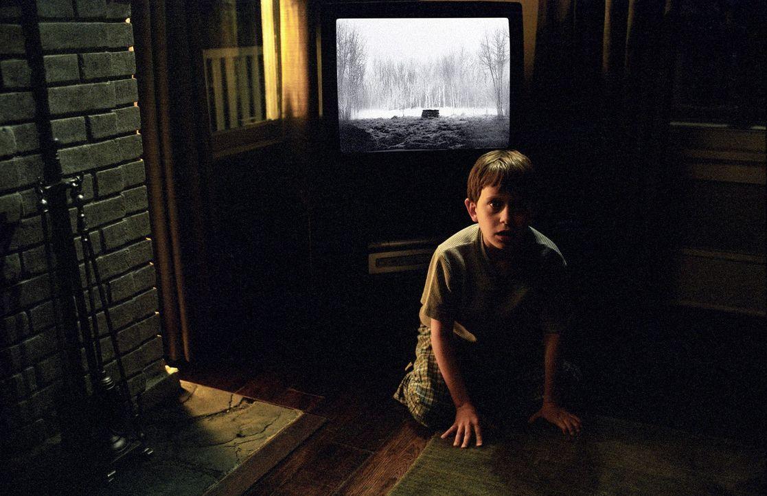Die tote Samara hat sich den Körper von Aidan Keller (David Dorfman) geschnappt ... - Bildquelle: DreamWorks SKG