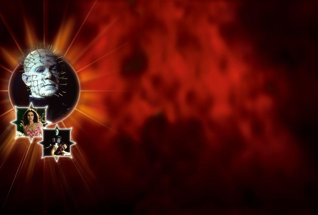Schon bald macht Cenobiten-Anführer Pinhead (Doug Bradley, M.) Kirsty (Ashley Laurence, l.) und Trevor (Dean Winters, r.) das Leben verdammt schwer... - Bildquelle: Miramax Films