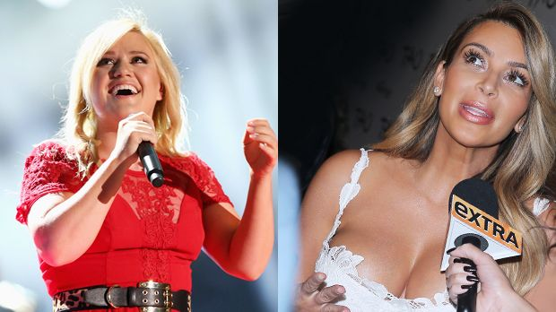 Top: Kelly Clarkson +++Flop: Kim Kardashian - Bildquelle: getty-AFP/WENN.com