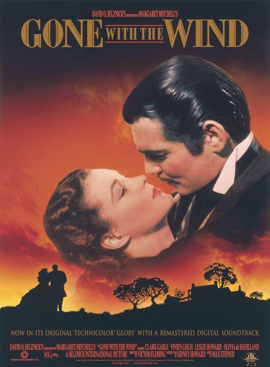 Vom Winde verweht - Plakat - Bildquelle: Metro-Goldwyn-Mayer (MGM)