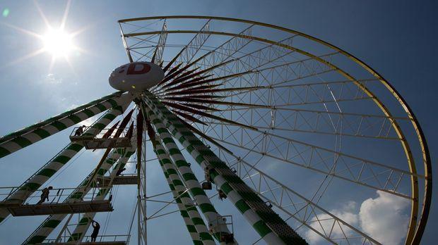 Das größte mobile Riesenrad der Welt