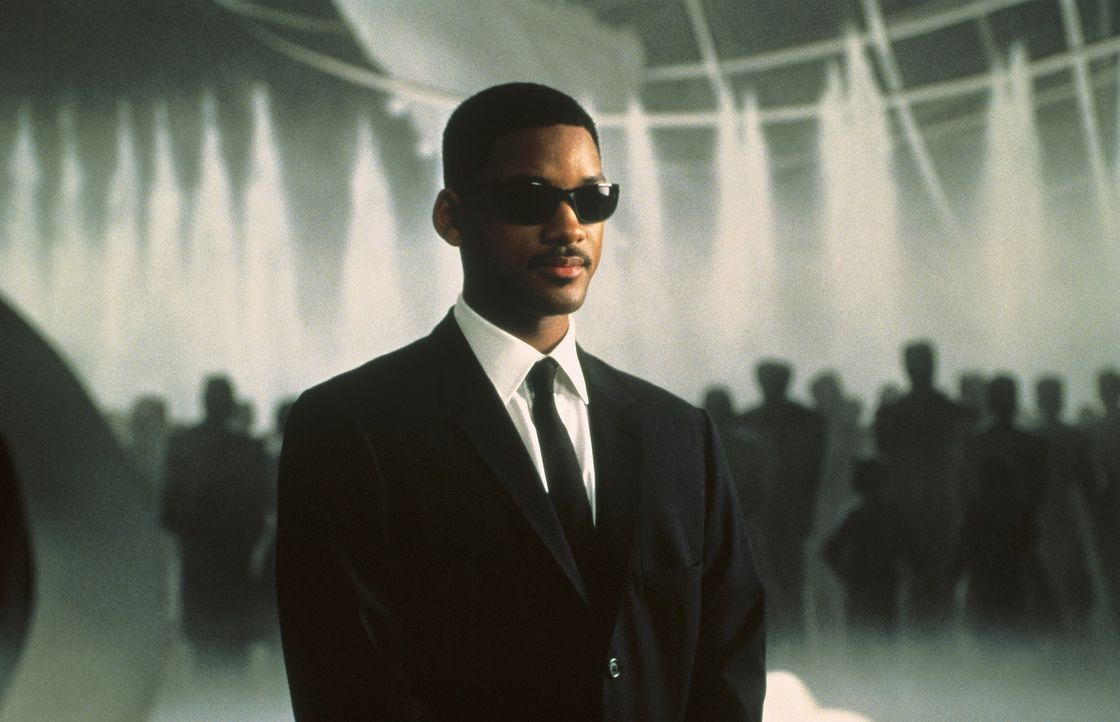 Man in Black: Agent J (Will Smith) ... - Bildquelle: Columbia TriStar