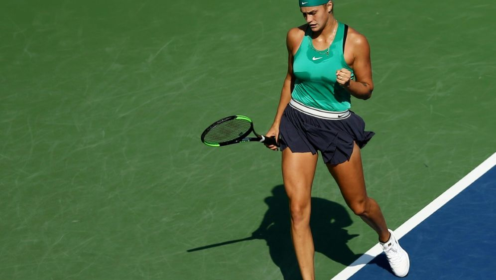 Sabalenka feiert ersten WTA-Tour-Sieg - Bildquelle: AFPGETTY SIDMaddie Meyer