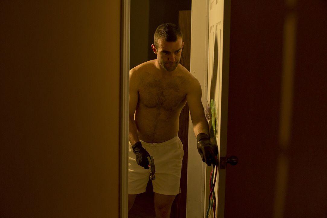 Kommt die Polizei Duane Owen (Josh Dolphin), dem brutalen Mörder der 14-jährigen Karen Slattery, je auf die Spur? Und muss er für seine Verbrechen b... - Bildquelle: Panagiotis Pantazidis Cineflix 2013