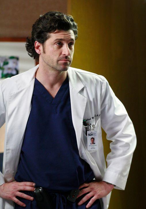 Bei der Operation an Dr. Crawford läuft einiges schief, doch Derek (Patrick Dempsey) kann diese Probleme noch rechtzeitig in den Griff bekommen ... - Bildquelle: Touchstone Television