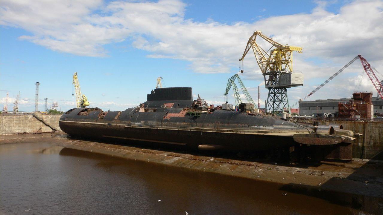 "Das Atom-U-Boot ""Taifun"" streifte über zwei Jahrzehnte lang durch ... - Bildquelle: Natalia Mironova NGT / Natalia Mironova"