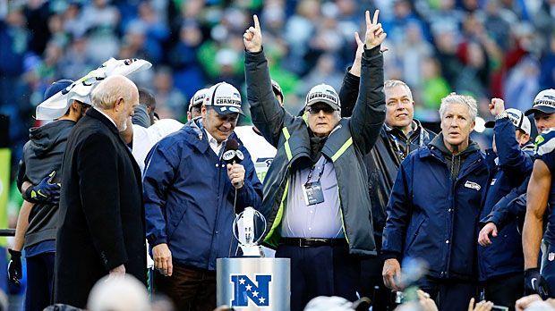 Paul Allen, Seattle Seahawks - Bildquelle: Getty Images