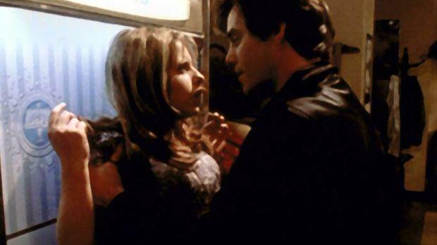 Xander (Nicholas Brendon, r.) hat sich seit der Begegnung mit einem Rudel afr...