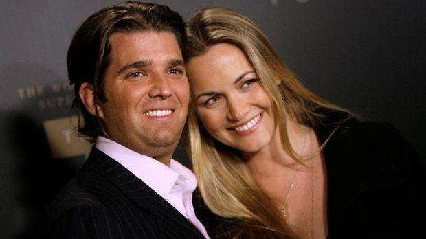 Donald Trump Jr. und seine Frau Vanessa
