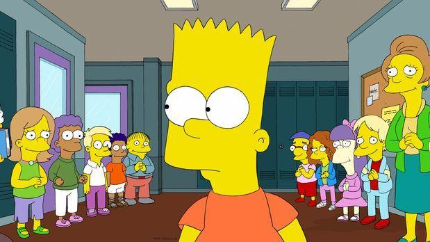 Die Simpsons - Dank Mr. Burns droht der Grundschule von Springfield die Schli...