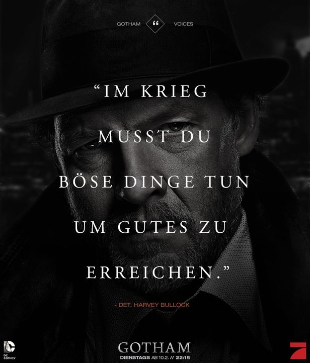 Gotham_Voices_Stimmen_der_Stadt_Zitate_Sprueche_Serie (8) - Bildquelle: DC Comics / Warner Bros. Entertainment, Inc.