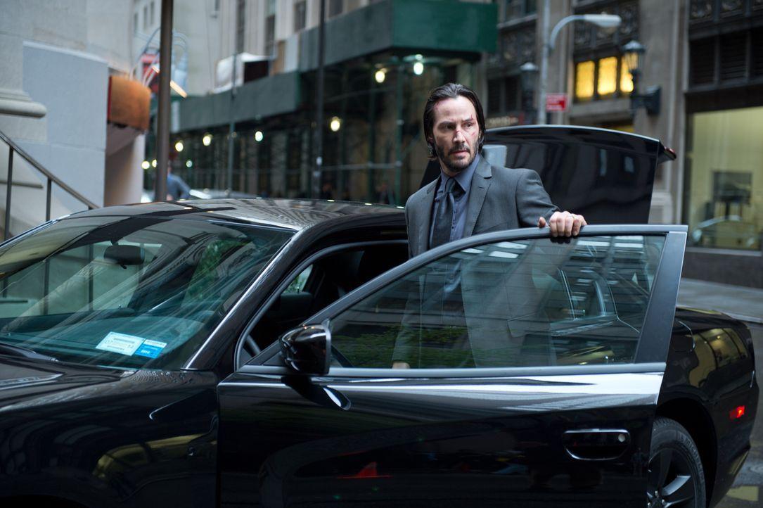 Eigentlich hat sich Auftragskiller John Wick (Keanu Reeves) zur Ruhe gesetzt. Doch nachdem das letzte Geschenk seiner verstorbenen Frau, ein süßer W... - Bildquelle: 2014 SUMMIT ENTERTAINMENT, LLC. ALL RIGHTS RESERVED.