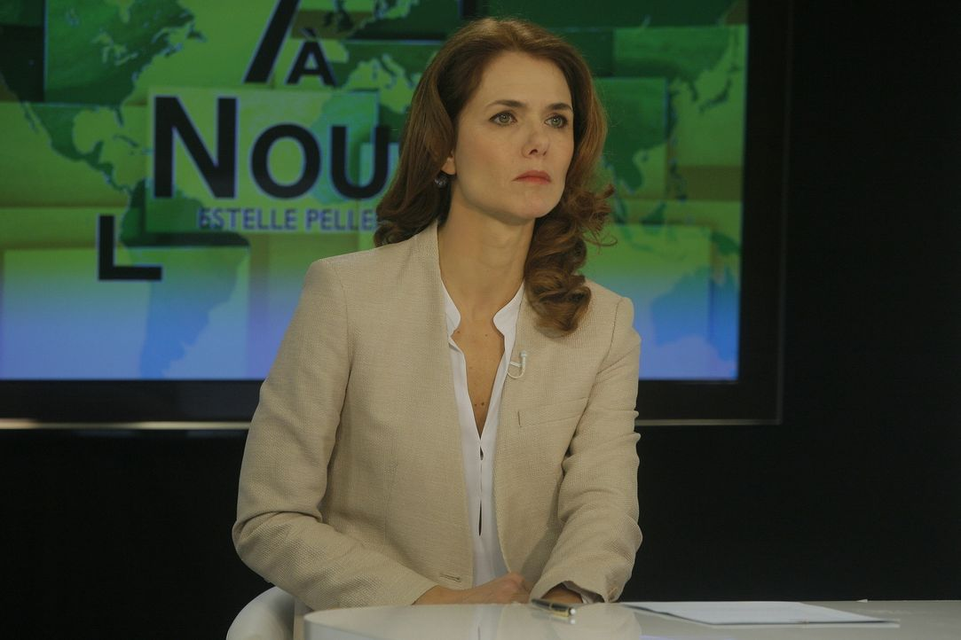 Hat die erfolgreiche Moderatorin Estelle Pellerin (Patricia Thibault) etwas mit den seltsamen Machenschaften ihres Sohnes zu tun? - Bildquelle: 2014 BEAUBOURG AUDIOVISUEL
