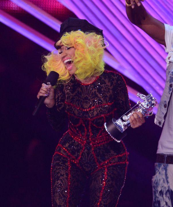 Nicki Minaj in Grusel-Outfit bei den MTV VMAs - Bildquelle: AFP ImageForum