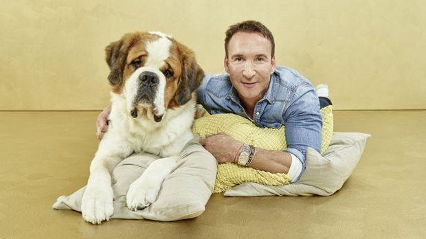 Jochen Bendel mit Hund