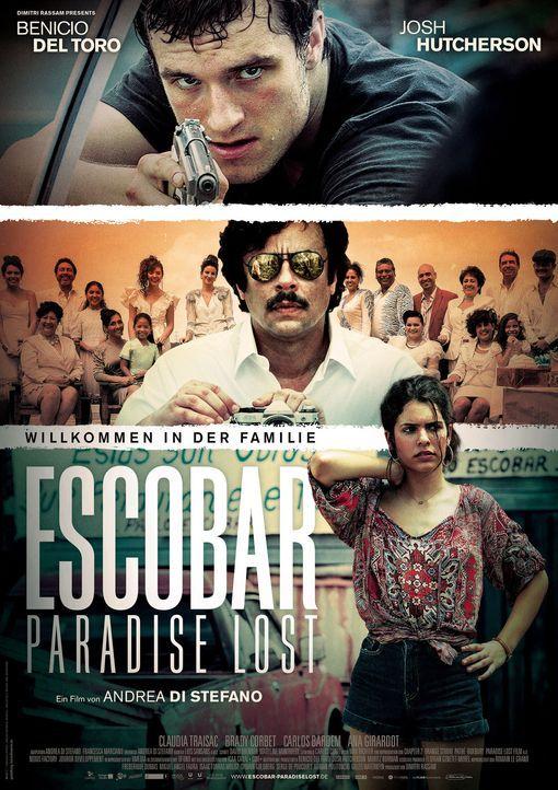 Escobar: Paradise Lost - Plakat - Bildquelle: 2014 CHAPTER 2 - NORSEAN PLUS - PARADISE LOST FILM A.I.E