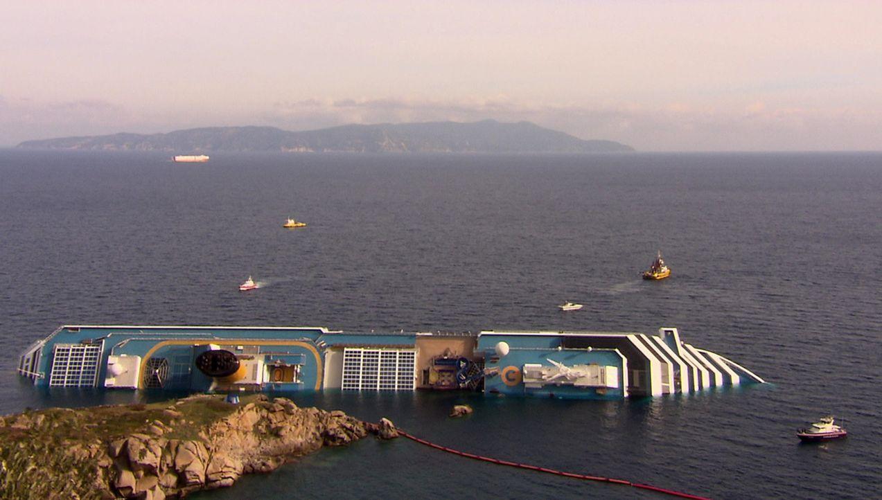 Die größten Tragödien: das Ende der Costa Concordia ... - Bildquelle: kabel eins