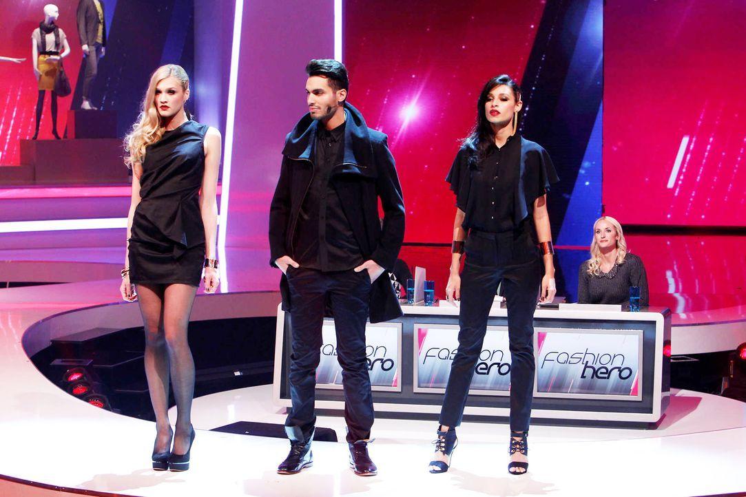 Fashion-Hero-Epi06-Gewinneroutfits-Rayan-Odyll-s-Oliver-07-Richard-Huebner - Bildquelle: Richard Huebner