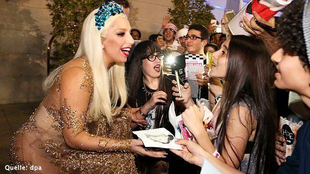 Lady-Gaga-14-09-08-dpa - Bildquelle: dpa